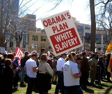racism tea party ignore pictures